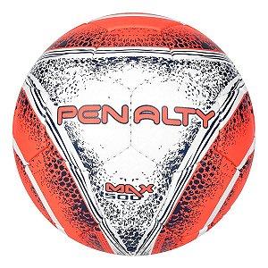 b6cfe823e3 Bola Futsal Penalty Max 500 C/C VIII Branco/Laranja/Marinho