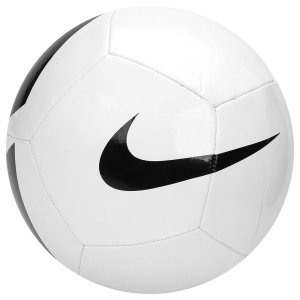 Bola Campo Nike Pitch Team Branco Preto ed1ac04ed9546
