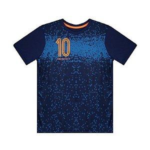 Camiseta Penalty Freestyle Urbano Juvenil Marinho/Laranja
