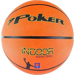 Bola De Basquete Poker Basket Official Indoor Laranja