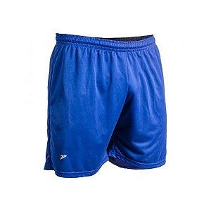Bermuda Futebol Poker Male Junior Azul