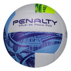 Bola De Volei De Praia Penalty Pro Ix Branco-Azul-Verde