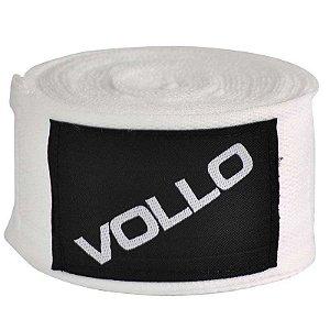 Bandagem Elastica Vollo 3m Branca