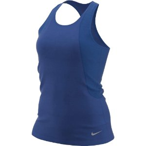 Regata Nike Run Tank Azul