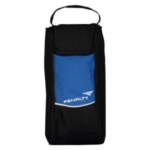 Porta Chuteira Penalty Matis Preto / Azul