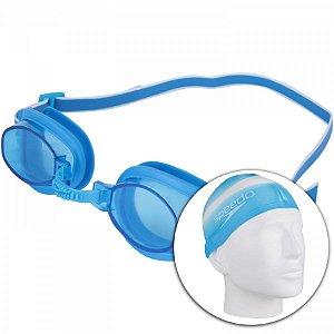 Kit Natação Speed Swin Kit 3.0 Azul