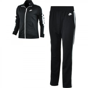 Agasalho Nike Trk Suit Pk Oh Feminino Preto / Branco