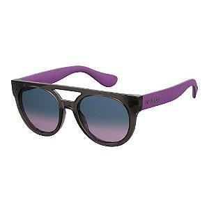 Óculos Havaianas Buzios Preto/Roxo