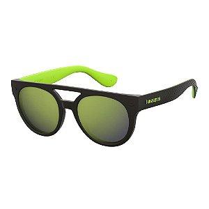 Óculos Havaianas Buzios Preto/Verde