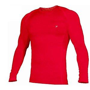 Camisa M.Longa UV Poker Skin Basic II Vermelho