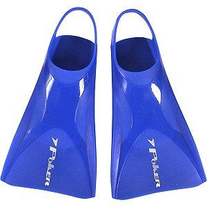 Pé de pato nadadeira Poker Agios Ultra Azul