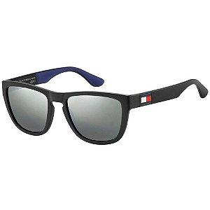 Óculos Tommy Hilfiger 1557/S Preto/Azul