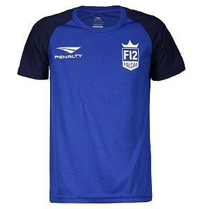 Camiseta Penalty F12 Jogo Juvenil Azul