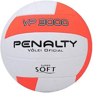 Bola De Volei Penalty Vp 3000 X Branco/Laranja/Preto