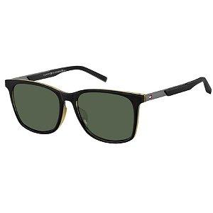 Óculos Tommy Hilfiger 1679/F/S Preto/Amarelo