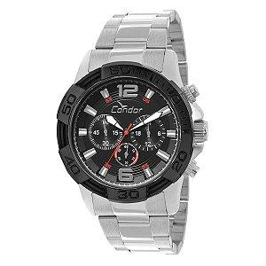 Relógio Condor Masculino Prata COVD54AB3P