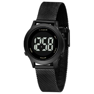 Relógio Lince Feminino Preto SDPH112LPXPX
