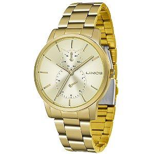 Relógio Lince Feminino Urban Dourado LMGJ086LC1KX