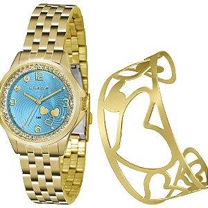 Relógio Lince Feminino Urban Dourado LRG4511LKU65A2KX