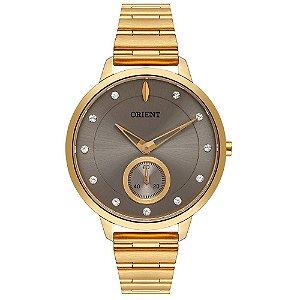 Relógio Orient Feminino Eternal Dourado FGSS0143I1KX