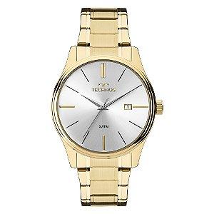 Relógio Technos Dourado Masculino Steel Dourado 2115MPN4K
