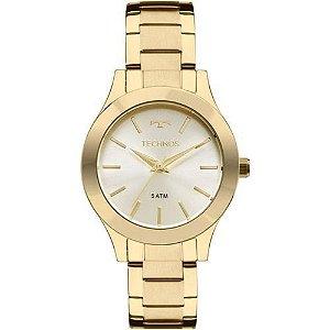 Relógio Technos Feminino Dourado 2035FFR4X