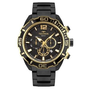 Relógio Technos Masculino Classic Legacy Preto JS26AS4P