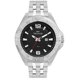Relógio Technos Masculino Prata 2115MTM1P