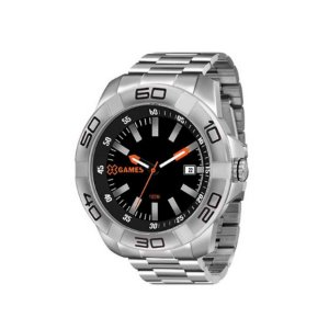 Relógio XGames Masculino Classico Prata XMSS1037PBSX