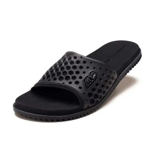 Sandália Kenner Slide Black M12 Preto