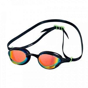 Óculos Natação Speedo Icon Preto Rainbow