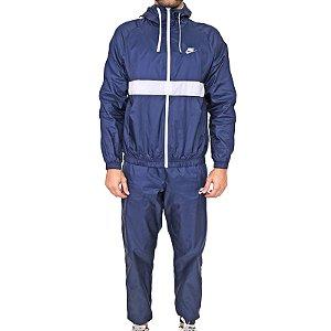 Agasalho Nike Tracksuit Hd Woven Azul/Branco