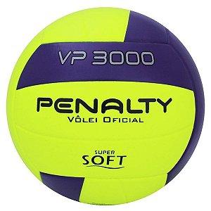 Bola De Volei Penalty Vp 3000 X Amarelo/Roxo