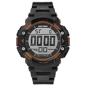 Relógio Mormaii Masculino Action Preto MO15190AB8L