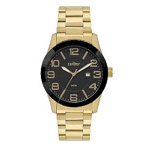 Relógio Condor Masculino Dourado CO2115KTS4P