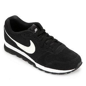 Tenis Nike Md Runner 2 Suede Preto Masculino