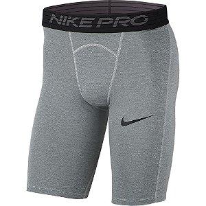 Bermuda Termica Nike Pro Cinza