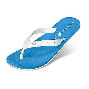 Sandália Kenner Summer Torcida Azul/Branco