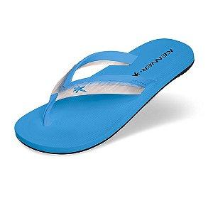 Sandália Kenner Acqua Glass Azul