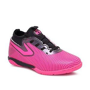 Chuteira Futsal Topper Vel Extreme Ii Masculina Pink/Preto