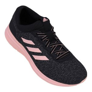 Tenis Adidas Chronus Preto/Rosa Feminino