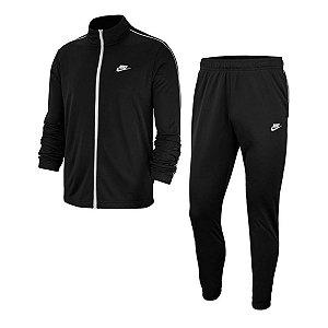 Agasalho Nike Tracksuit Basic Preto/Branco