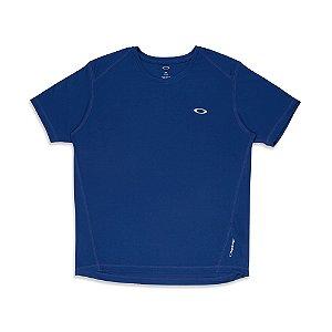 Camiseta Oakley Mod Daily Sport Azul Marinho Masculino