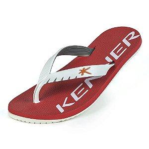 Sandália Kenner Red Colors Vermelho