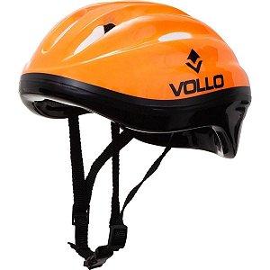 Capacete Helmet Vollo Laranja