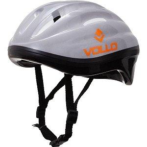 Capacete Helmet Vollo Cinza