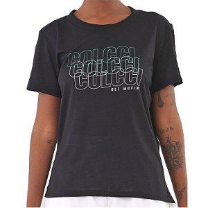 Camiseta Colcci New Confort Preto