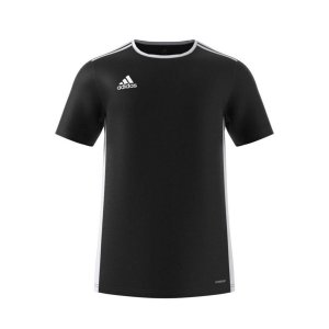 Camiseta Adidas Entrada 18 Preta Masculino