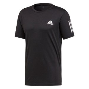 Camiseta Adidas Club 3str Tee Preto Masculino