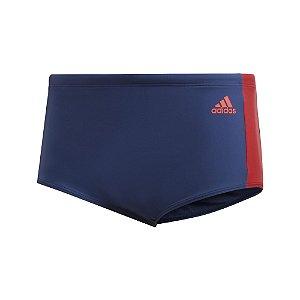Sunga Adidas Cb3s Wide Azul Marinho Masculino